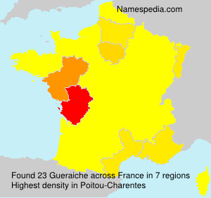 Surname Gueraiche in France