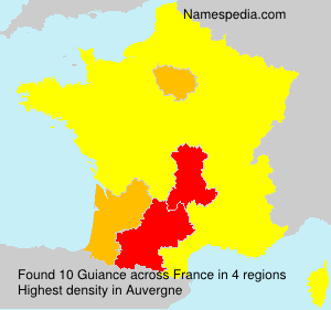 Surname Guiance in France