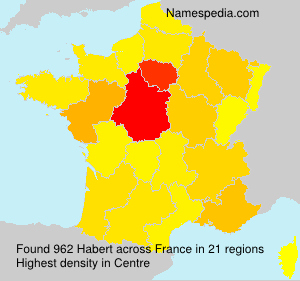 Surname Habert in France