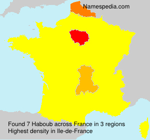 Surname Haboub in France