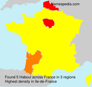 Surname Haboul in France