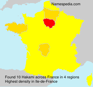 Surname Hakami in France