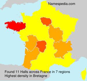 Halls - France