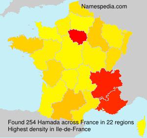 Familiennamen Hamada - France