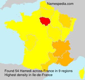 Familiennamen Hamedi - France