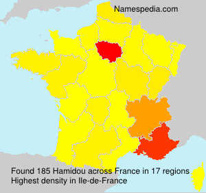 Surname Hamidou in France