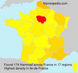 Surname Hammad in France