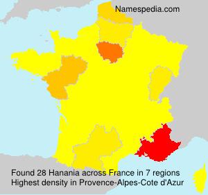 Hanania - Names Encyclopedia