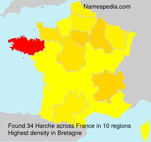 Familiennamen Harche - France