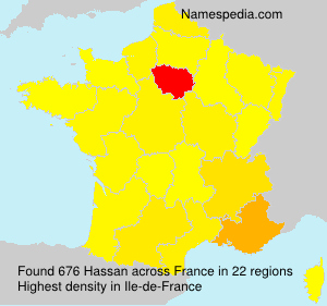 Surname Hassan in France