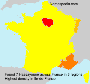 Surname Hassayoune in France