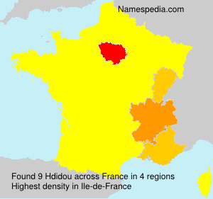 Surname Hdidou in France