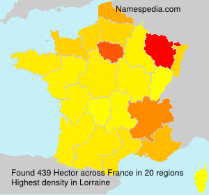 Surname Hector in France