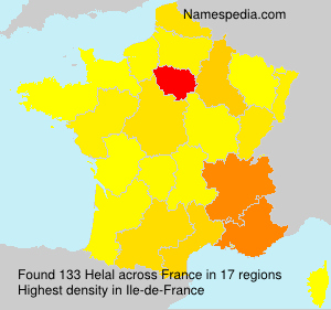 Surname Helal in France