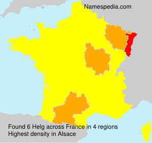 Surname Helg in France