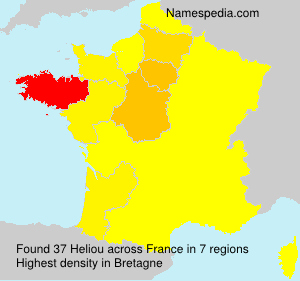 Surname Heliou in France