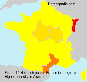 Surname Helmrich in France