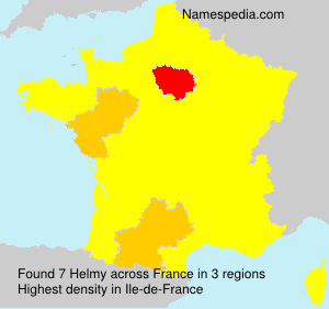Surname Helmy in France