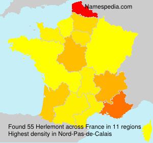 Familiennamen Herlemont - France