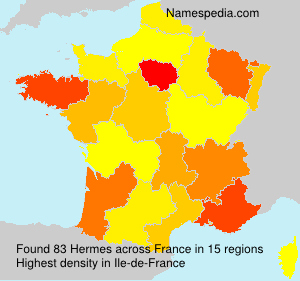 Surname Hermes in France