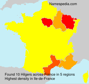 Surname Hilgers in France