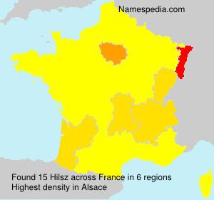 Surname Hilsz in France