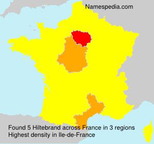 Surname Hiltebrand in France