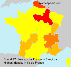 Surname Hima in France