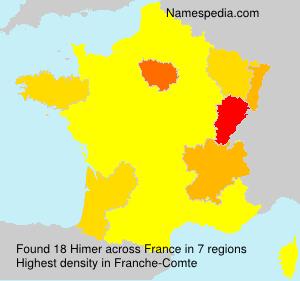 Familiennamen Himer - France