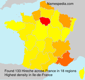 Surname Hireche in France
