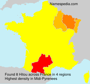 Surname Hitou in France