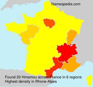 Surname Hmamou in France