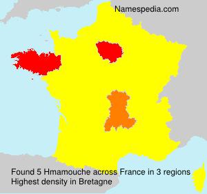 Surname Hmamouche in France