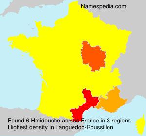 Familiennamen Hmidouche - France