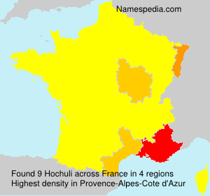 Surname Hochuli in France