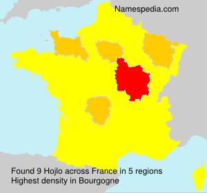 Familiennamen Hojlo - France