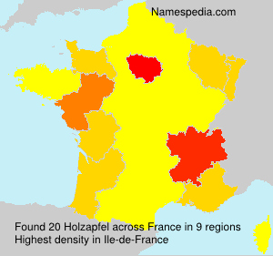 Holzapfel - France