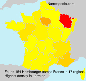 Surname Hombourger in France
