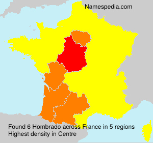 Surname Hombrado in France