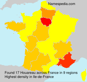 Surname Houareau in France