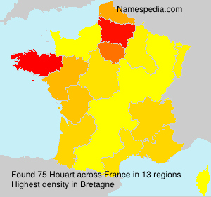 Surname Houart in France