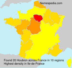 Surname Houbion in France