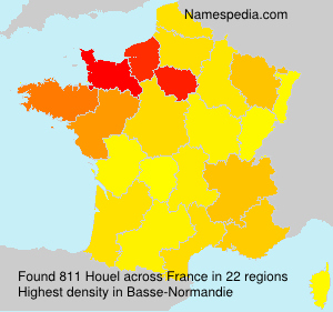 Surname Houel in France