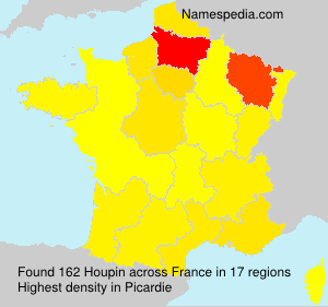 Surname Houpin in France