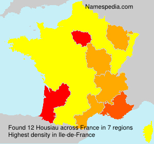 Surname Housiau in France