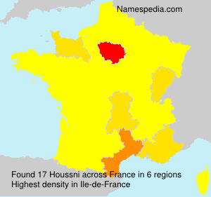 Surname Houssni in France
