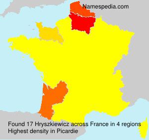 Hryszkiewicz - France