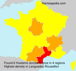 Surname Huelamo in France