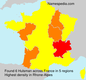 Surname Hulsman in France