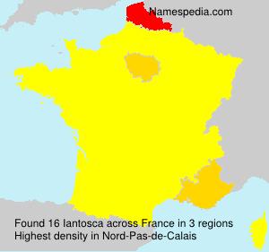 Surname Iantosca in France